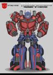 Transformers Warriors Of Cybertron Optimus Prime