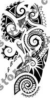 Maori tattoo shoulder design
