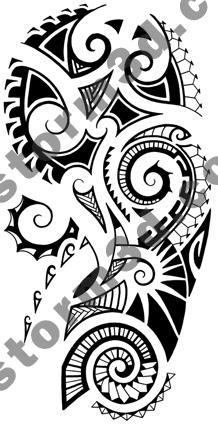 Maori tattoo shoulder design - shoulder tattoo