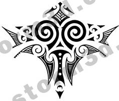 Maori tattoo design back by MaoriTattoo