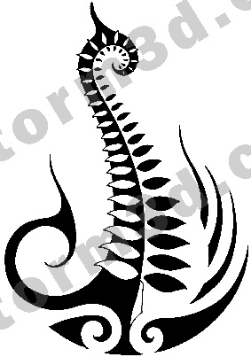 Maori Tatto Designs on Maori Fern Tattoo Design By Maoritattoo On Deviantart