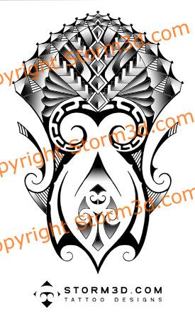 mixed maori samaon tattoo by maoritattoo on deviantart. Black Bedroom Furniture Sets. Home Design Ideas