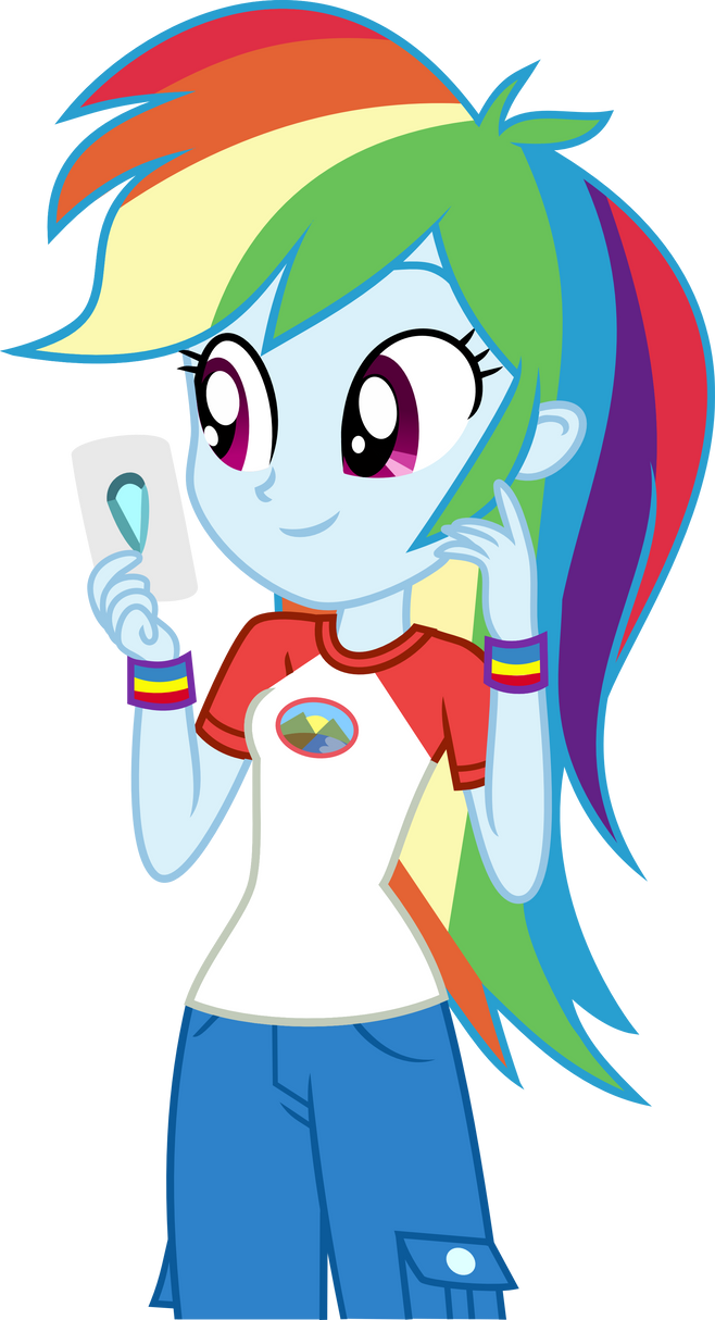 Rainbow Dash EqG LoE by Anhel032015