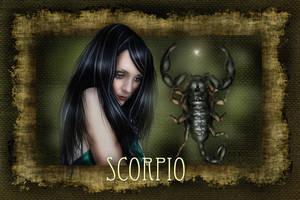 Scorpio by wolfmorphine