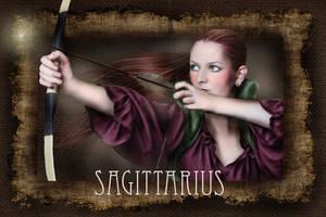 Sagittarius by wolfmorphine