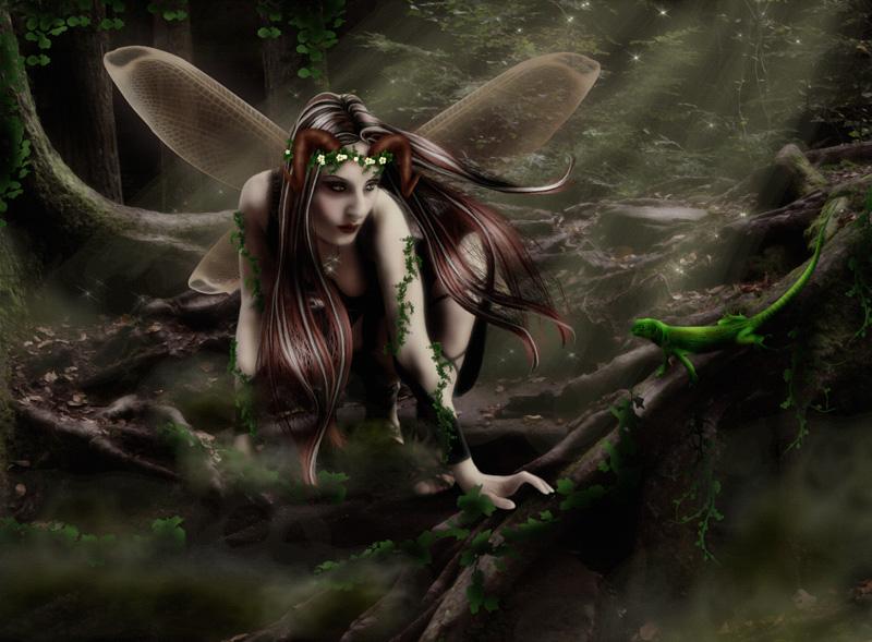 Jade by wolfmorphine
