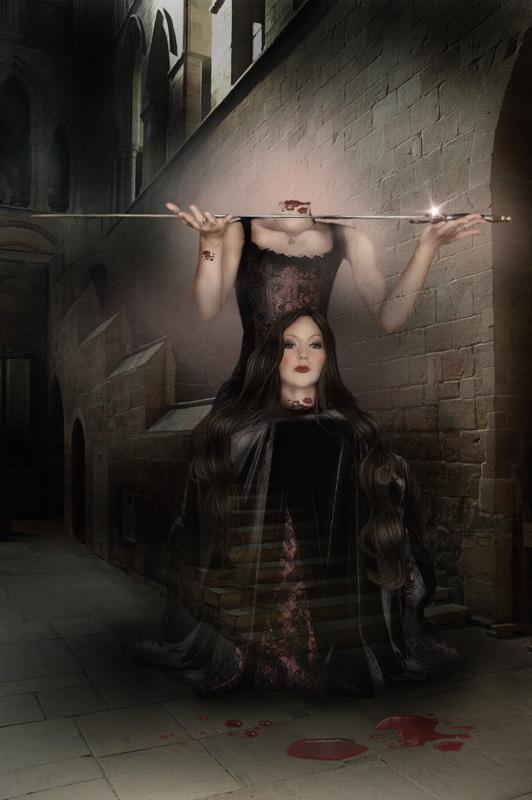 Anne Boleyn by wolfmorphine