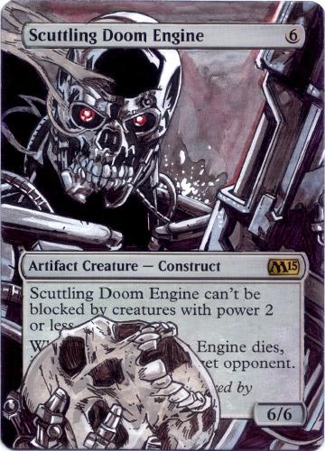 Scuttling Doom Engine - Terminator by MTGAlters on DeviantArt