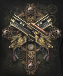 Steampunk Skeleton (Back)