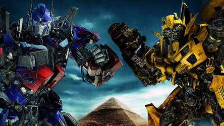 Optimus Prime and BumbleBee