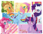 ponies in boxes
