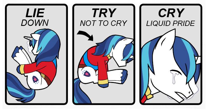 Cry liquid pride by potatoevomit