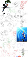 May sketchdump by HiSS-Graphics