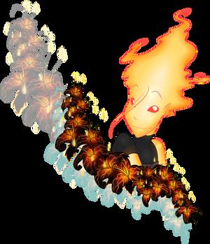 My magma blossom