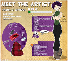 Meet the artist by HiSS-Graphics