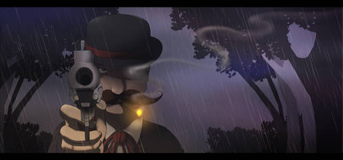 DnD - Rain and smoke by HiSS-Graphics