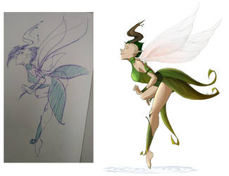 Redraw - Fairy by HiSS-Graphics