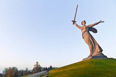 The Motherland Calls by shaktya