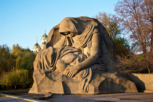 The Grieving Mother