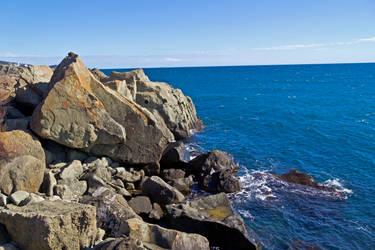 Rock at Black Sea