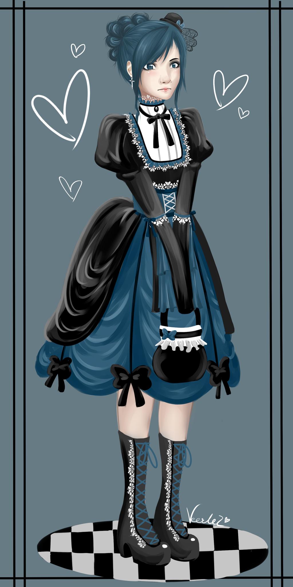Victorian Girl by veerlez on DeviantArt