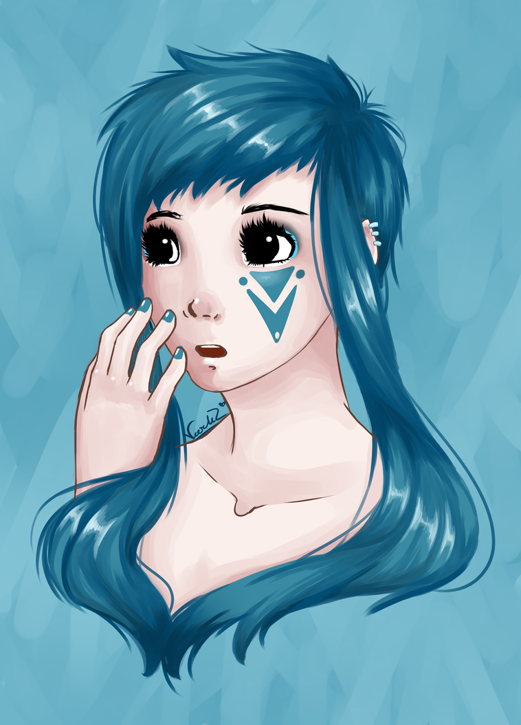 Melusina the Water Nymph by veerlez on DeviantArt