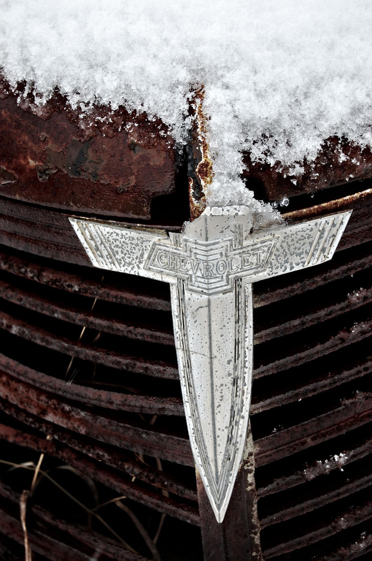 An old chevy symbol on car by ncoppa on deviantart an old chevy symbol on car by ncoppa biocorpaavc Images