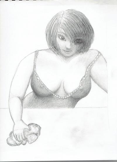 Bar Maid 1 by pranayama-shadi