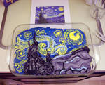 starry night cake by quidditchmom
