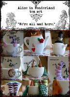 Wonderland Tea Set by quidditchmom