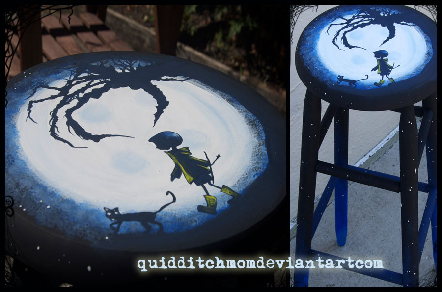 Coraline Stool By Quidditchmom On Deviantart