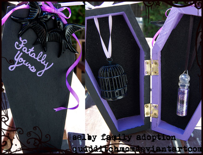 Fatally Yours Jewelry Box by quidditchmom