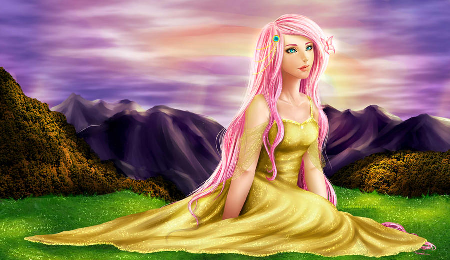 Fluttershy by Sanctinel