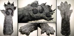 Werewolf paw