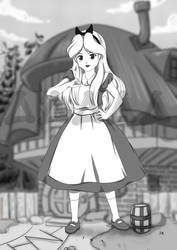 Alice the White Rabbit House page 9 end by Mahendr by Dead-Pool3