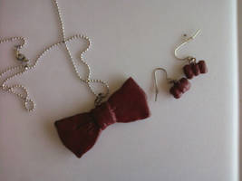 Bowties Are Cool Jewelry Set by Texas-Guard-Chic