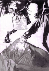 Light's death based on manga