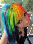 Rainbow Dash Hair