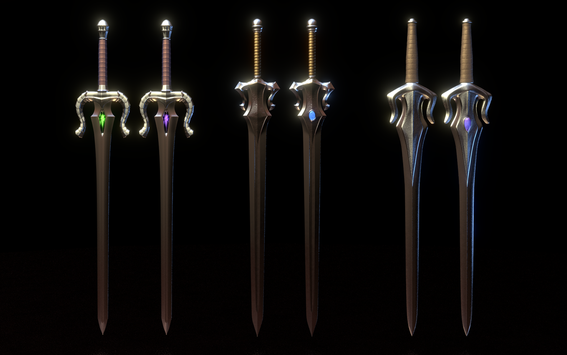 MOTU - Power Swords by paulrich