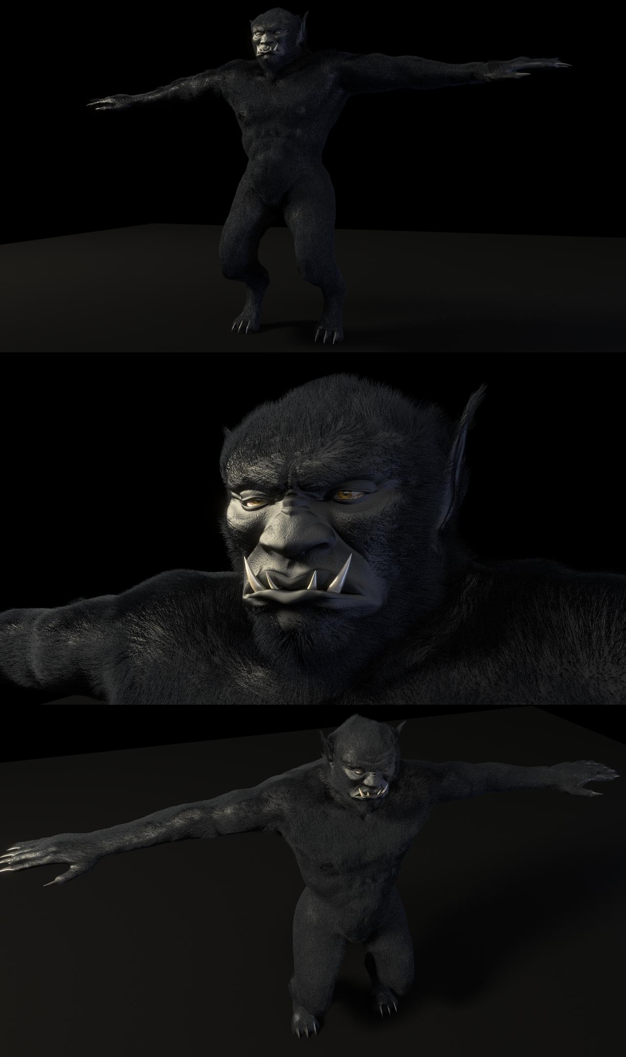 The Black Ogre of Genetrix by paulrich