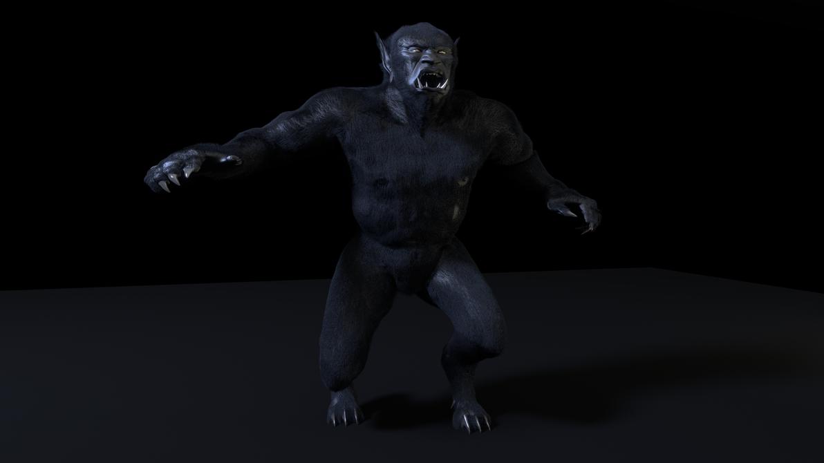 The Black Ogre of Genetrix 2 by paulrich
