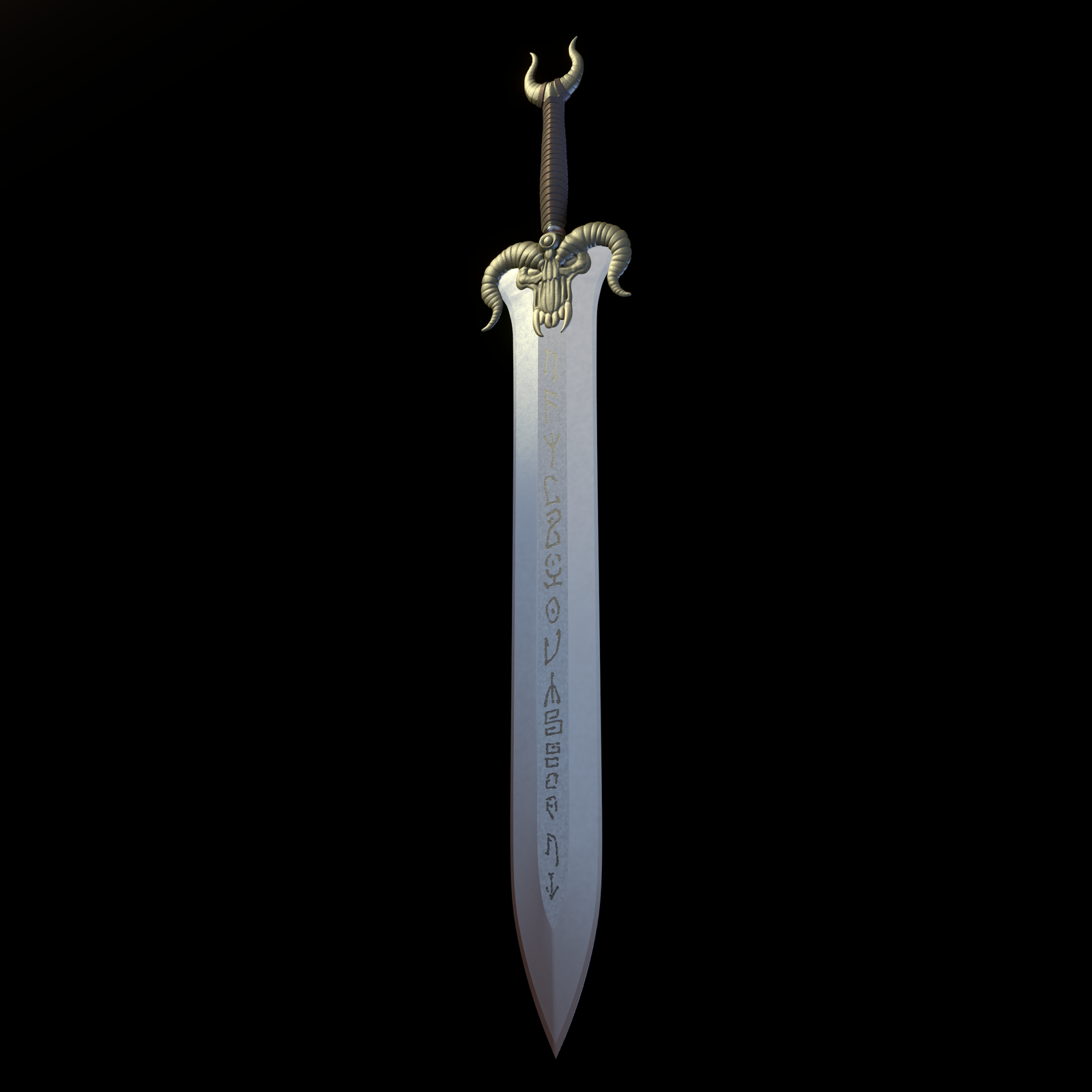Rubus' Osric The Barbarian's Sword - 1 by paulrich