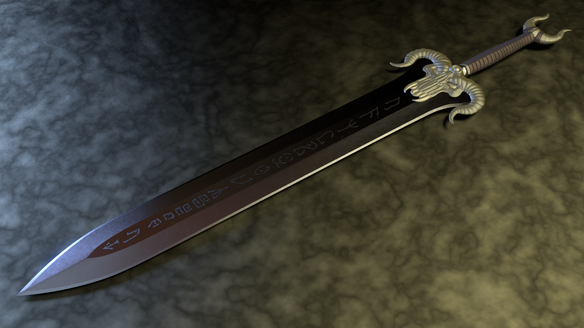 Rubus' Osric The Barbarian's Sword - 2 by paulrich