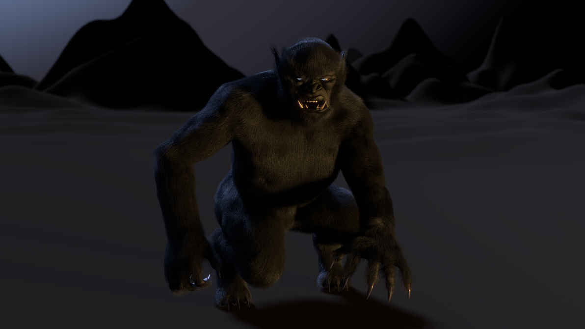 The Black Ogre of Genetrix 3 by paulrich