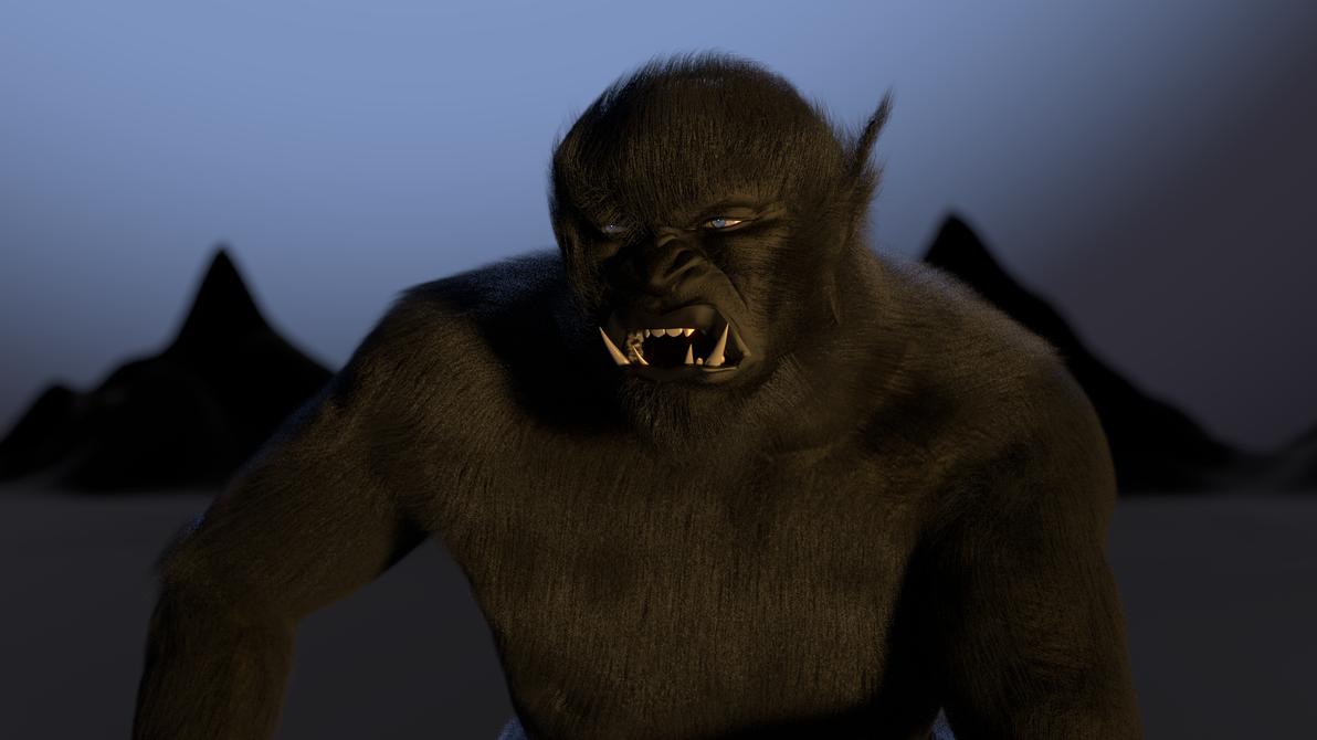 The Black Ogre of Genetrix 3 Close-Up by paulrich