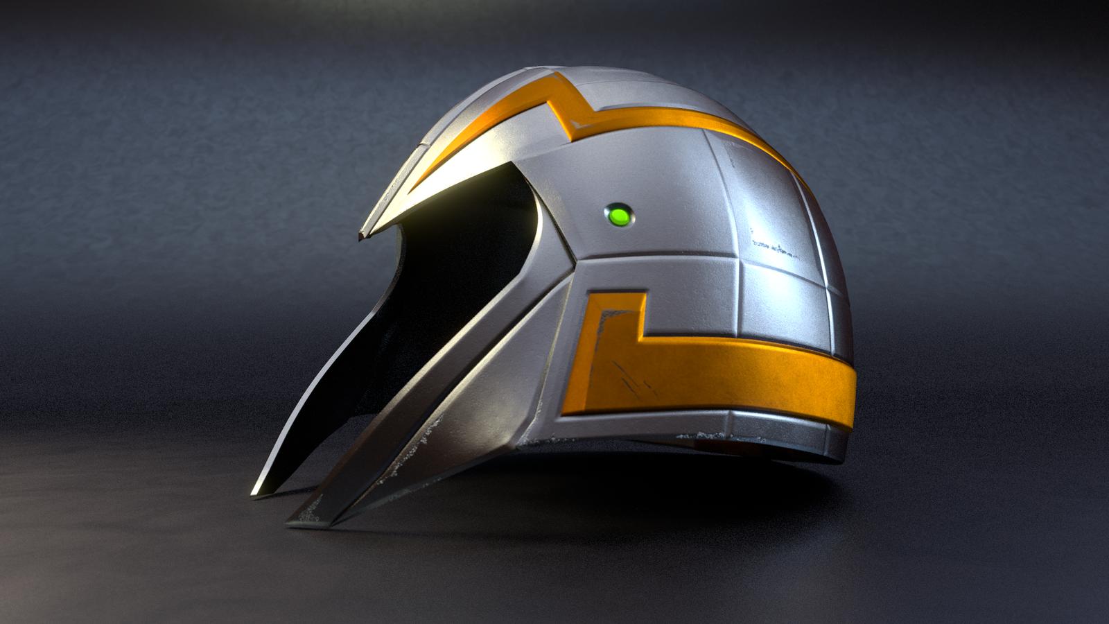 MOTU - Man-At-Arms' Helmet -1 by paulrich