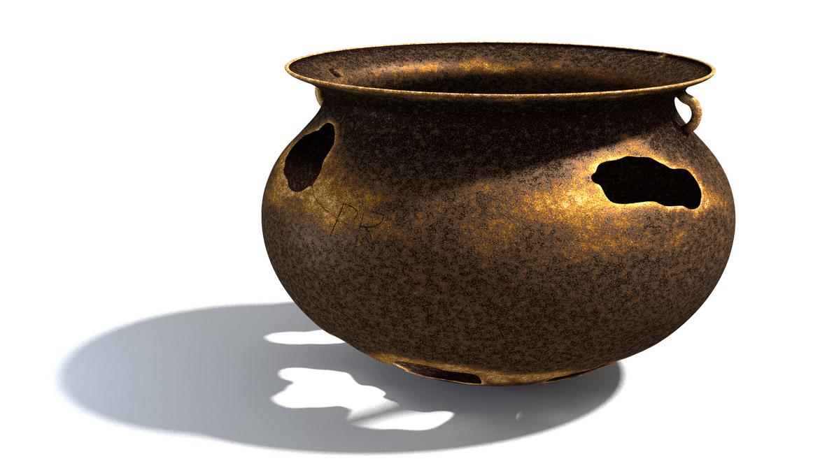 Old Rusty Pot by paulrich