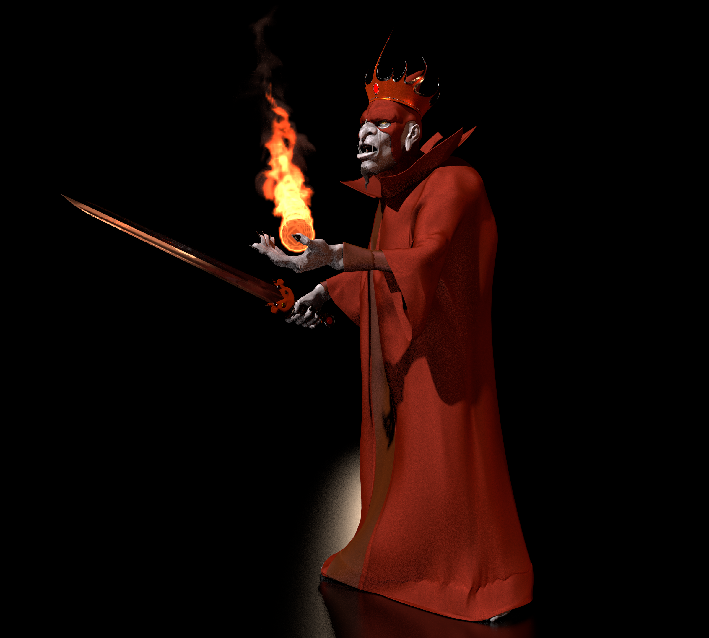 TFOD - Ommadon, The Red Wizard 2 by paulrich