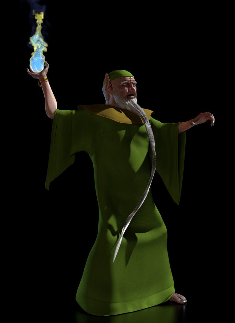 TFOD - Carolinus, The Green Wizard 1 by paulrich