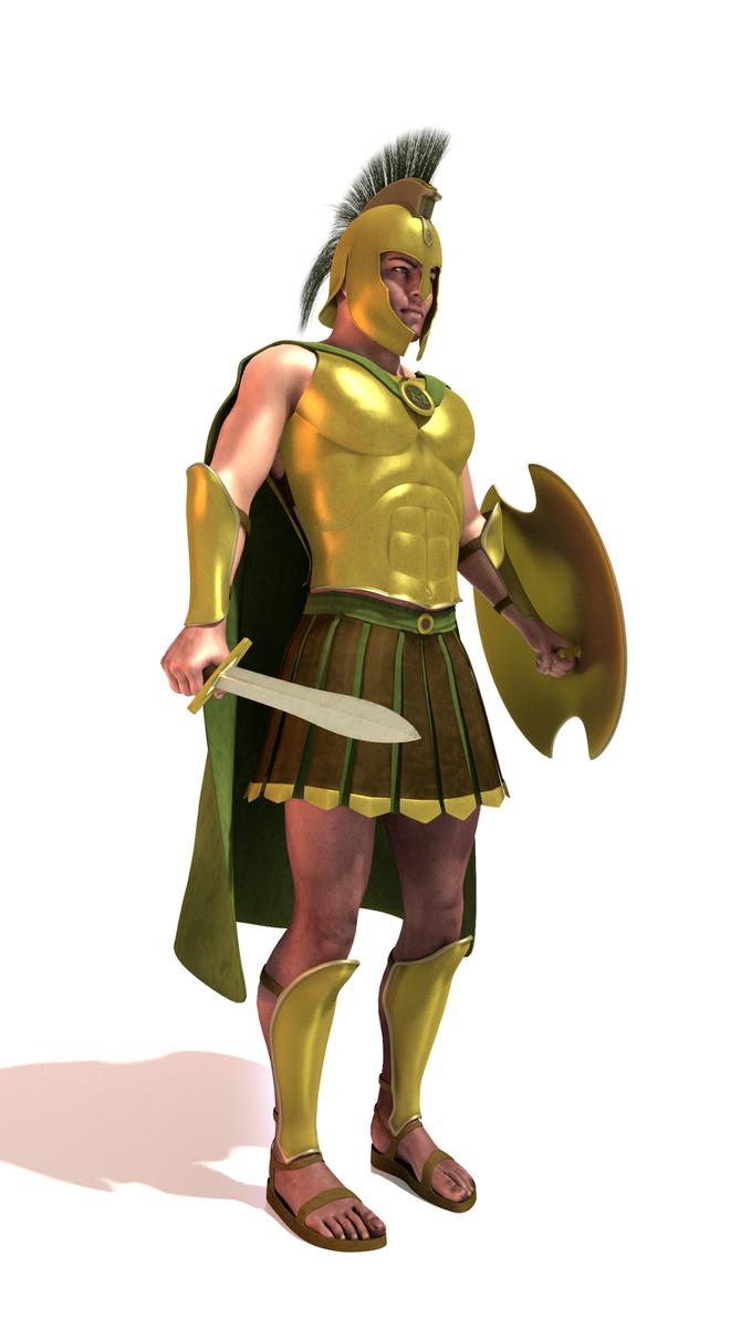 Trojan Warrior - 1 by paulrich